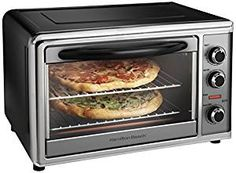 Hamilton Beach 31104 Countertop Oven with Convection and Rotisserie, Silver #affiliate