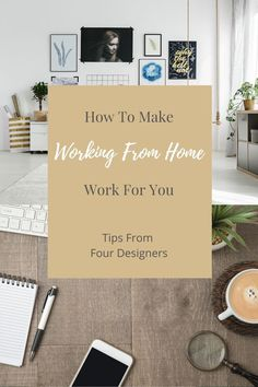 Since most people are working remotely right now, here are tips for working from home along with my friends Annie, Cindy, Carla, and my home offices. Design Studio Office, Interior Design Studio, Home Office Space, Office Spaces, Garage Interior, Bookshelf Styling, Built In Desk, Working Area, Kids House