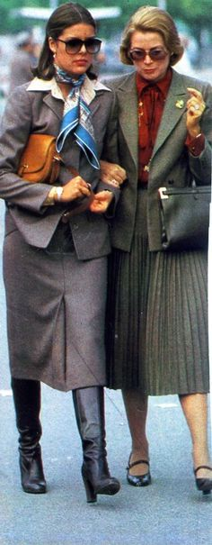 Princess Caroline and Her mother, Princess Grace