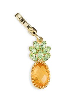 """Juicy Couture """"Resort"""" pineapple jewelry charm"""