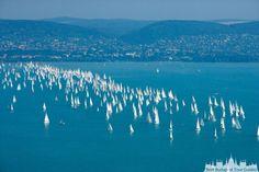 "Kékszalag"" (Blue Ribbon) Sailing Regatta, Lake Balaton - Hungary Places Around The World, Around The Worlds, Beautiful World, Beautiful Places, Sailing Regatta, Budapest Hungary, Holiday Destinations, Holiday Travel, Places To Visit"