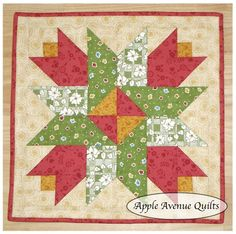 Apple Avenue Quilts: Free 2012 Block of the Month