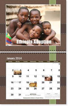 Fundraising Photo Calendars