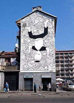 Street art, Mural #04 for Bart - Torino