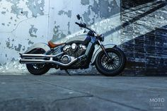 The New 2015 Indian Scout unveiled