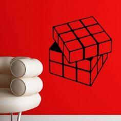 Sticker Design cube multi-dimensionnels