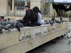 Le continent sud américain - Bogota. C'est un choc. Le Nouveau monde est vraiment nouveau!