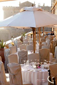 Wedding in italy by the sea near Rome at La Posta Vecchia #wedding #italy #wedingitaly