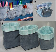 9 Creative Things To Do With Old Jeans! - I like the coasters