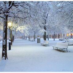 St Antoine under the snow