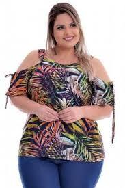 056c6d83a0eef Imagen relacionada Moda Plus Size, Plus Fashion, Blouses, Plus Size Girls,  Crocheting
