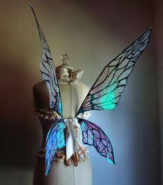 Beautiful as always... Natural Fairy Wings by WhimsyEverlasting.