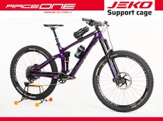 Raceone #JEKO E Mtb, Trekking, Cage, Bicycle, Vehicles, How To Make, Bike, Bicycle Kick, Bicycles