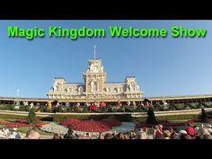 Magic Kingdom Welcome Show 2016 at Walt Disney World GoPro HD