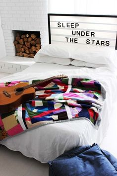 Outfit your bed with a light box headboard. | 36 Completely Fucking Awesome DIY Projects