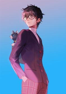 Image uploaded by SHΔCHI. Find images and videos about art, anime and manga on We Heart It - the app to get lost in what you love. Persona 5 Joker, Persona 4, Cute Anime Character, Character Art, Ren Amamiya, Shin Megami Tensei Persona, Akira Kurusu, Bishounen, Boy Art