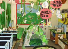 Minibeast corner classroom display photo - Photo gallery - SparkleBox