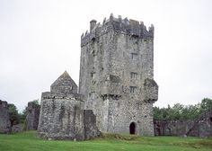 Old Ireland Aughnanure Castle Galway Tower House