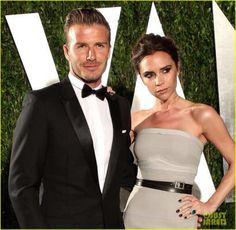 Victoria and David Beckham. Love them!