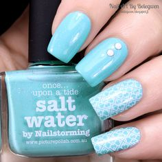 Nail Art by Belegwen: Picture Polish Salt Water