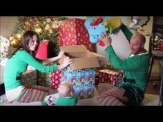 This video is dedicated to those who are going to be spending #Christmas with their baby for the first time. It's so cute and so Christmassy..