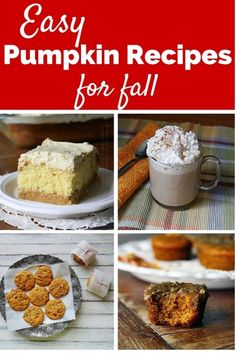 Easy Pumpkin Recipes for Fall - Photo credit: Amanda's Cookin'