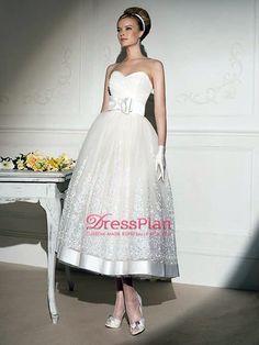 Um vestido de noiva requintado e elegante A-Line : WG2035 : €122.03