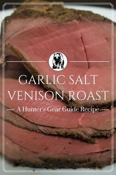 If you want a simple venison roast recipe that you can throw in the oven and enjoy for days after, y Deer Recipes, Wild Game Recipes, Veggie Recipes, Fish Recipes, Cooking Recipes, Veggie Food, Recipies, Venison Recipes, Roast Recipes