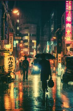 Rainy Night In Tokyo by Masashi Wakui                                                                                                                                                                                 More