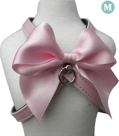 Harnais chien cuir Baby Bow rose vernis https://www.cupofdog.fr/collier-harnais-chihuahua-petit-chien-xsl-243.html