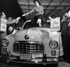 Miss America - Chicago Auto Show, 1950