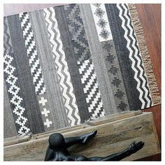 Tapis kilim fait main tribe naturel the rug republic 160X230 - Tapis Cosy