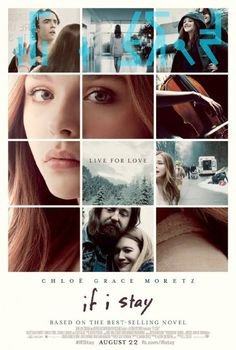 If I Stay on DVD November 2014 starring Chloë Grace Moretz, Mireille Enos, Liana Liberato, Jamie Blackley. Mia Hall (Chloë Grace Moretz) thought the hardest decision she would ever face would be whether to pursue her musical dreams at Juilliard o If I Stay Movie, See Movie, Movie Tv, If I Stay Book, Stay With Me, Mireille Enos, Movies Showing, Movies And Tv Shows, Thriller