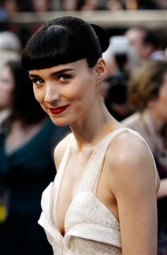 Oscars 2012: Rooney Mara, nominated for Girl With the Dragon Tattoo.
