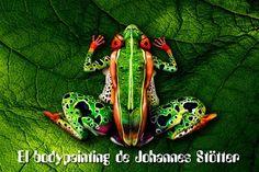 Arte e ingenio en el bodypainting de Johannes Stötter