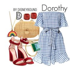 Not Disney, obviously! But I loved this dress and wanted to do something with it! :) Get the look!