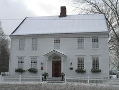 FARMHOUSE – vintage early american farmhouse, the bishop abraham jarvis house built in 1799.