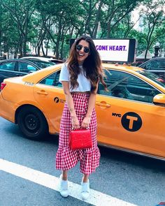 Long Skirt Outfits, Chic Outfits, Pretty Outfits, Summer Outfits, Fashion Outfits, Womens Fashion, Vogue Fashion, Urban Fashion, Style Rock