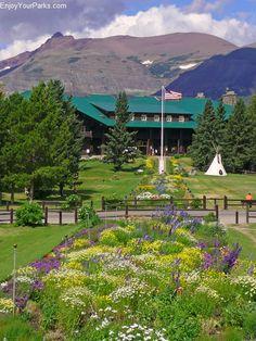 Glacier Park Lodge, East Glacier Montana, Glacier National Park.  I wonder if my great grandma stayed here back in the day.