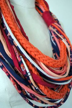 Infinity Scarf by gselle on Etsy