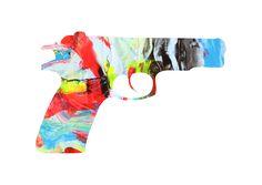 Gun by Loreta Saez Franco