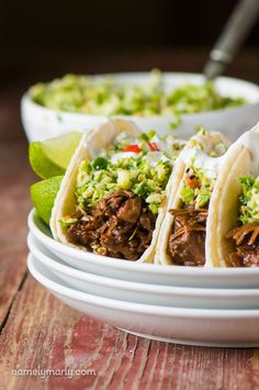 Dig into these Bulgogi Jackfruit Street Tacos that are easy to make, fun to throw together and so delicious to eat. You'll be coming back for more!
