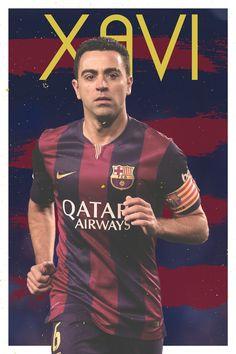 Poster Xavi Hernández on Behance
