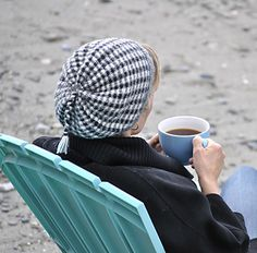 Gingham and Checkerboard Hats by Marcy New - free