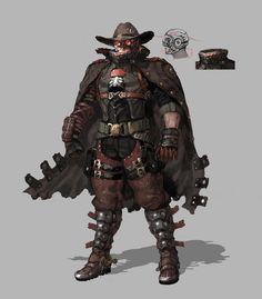 gunz cowboy, in shoo on ArtStation at https://www.artstation.com/artwork/l6nmJ?utm_campaign=notify&utm_medium=email&utm_source=notifications_mailer