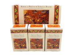 Vanilla and Ginger Perfumed Soap Bar Collection by LErbolario Lodi (3 - 3.5oz Soap Bars)