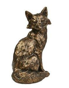 bronze fox #woodland  #trends #animals #cute #winter #home #yourhomemagazine #decorating #fox #owl #squirrel