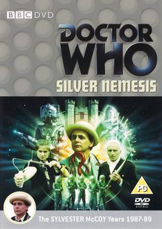 Doctor Who – Silver Nemesis Doctor Who Dvd, Good Doctor, Kevin Clarke, Sylvester Mccoy, Classic Doctor Who, Classic Series, The Seven, Dr Who, Booklet
