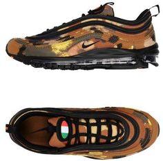 NIKE NIKE AIR MAX 97 PREMIUM QS Low-tops & #sneakers #nikeshoes #affiliate Air Max 97, Nike Air Max, Nike Low Tops, Nike Trainers, Camouflage, Nike Shoes, Flats, Running, Sneakers