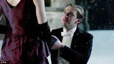 Matthew proposing to Mary-  Downton Abby